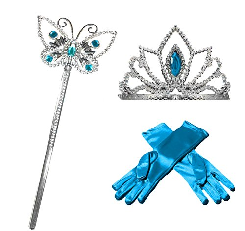 Princess Dress up Party Accessories - 3 Piece