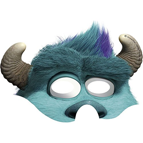 Monsters University Inc. Sulley Paper Masks (8ct)
