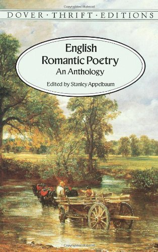 English Romantic Poetry An Anthology Dover Thrift Editions