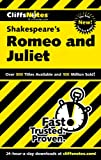 CliffsNotes on Shakespeares Romeo and Juliet (Cliffsnotes Literature)