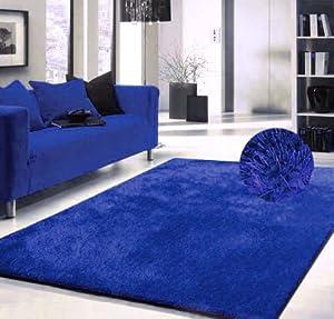Innovative Royal Blue Reversible 100 Cotton Bath Mat Bathroom Rug  EBay