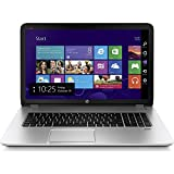 HP ENVY 17.3 Inch Laptop (Intel Core i7, 12 GB, 1 TB Hybrid Drive, Silver) - Free Upgrade to Windows 10