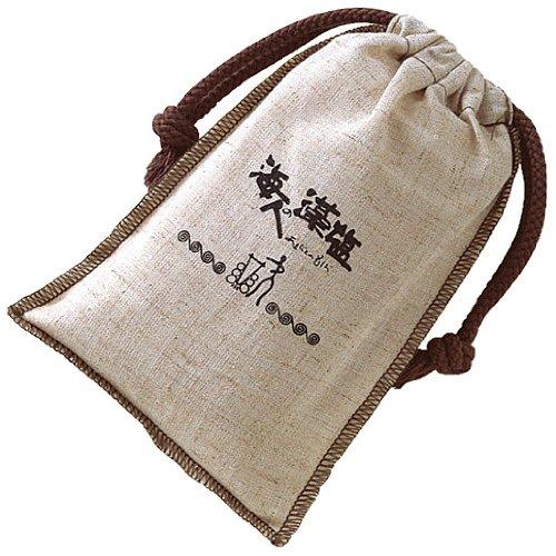 海人の藻塩 布袋 300g