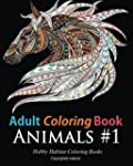 Adult Coloring Books: Animals: 45 Str...