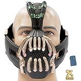 Bane Mask Voice Changer TDKR Mask Costume- New Version Xcoser