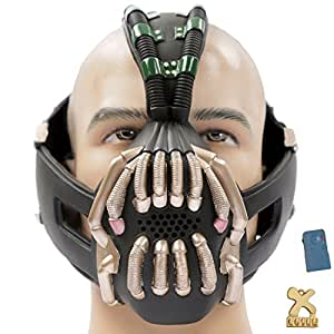TDKR Bane Mask with Voice Changer Newest Version for Halloween Costume