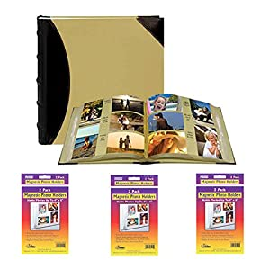 Pioneer Photo Albums 622500 Fabric Leatherette 500 Photo Album 4x6 Bundle