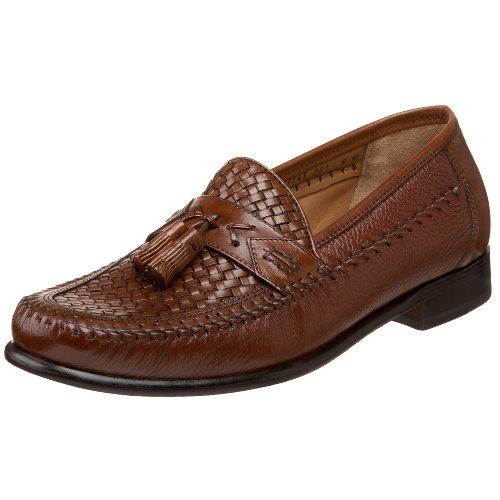 Brass Boot Men's Aldolfo Loafer,Cognac,11 W