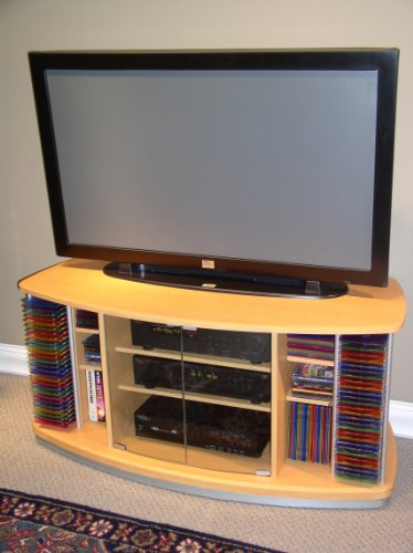 Cheap 4D Concepts Deluxe TV Stand (B000XZF20A)