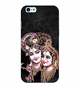 Radha Krishna 3D Hard Polycarbonate Designer Back Case Cover for Apple iPhone 6S