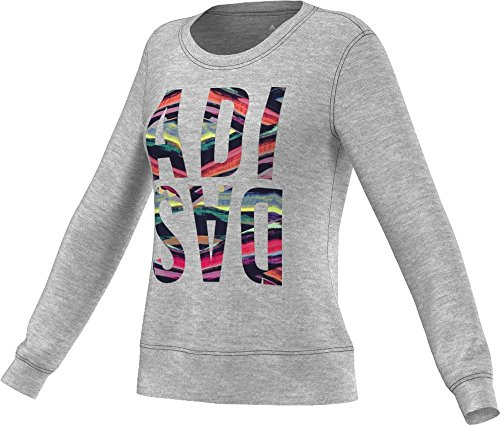 adidas Womens Badge Of Sport Graphic Long Sleeve Tee