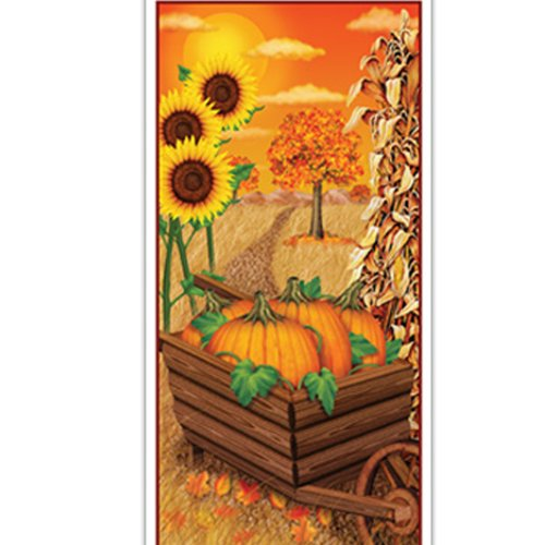 Fall Door Cover Party Accessory (1 count) (1/Pkg)
