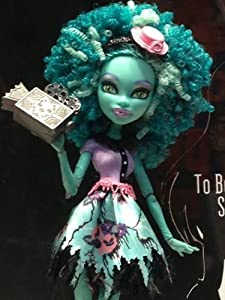 Monster High Frights Camera Action Honey Swamp Doll