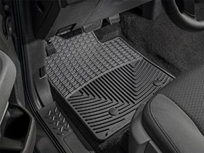 WeatherTech Trim to Fit Front Rubber Mats (Black)