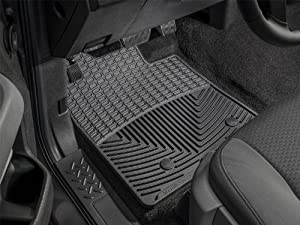 WeatherTech Floor Mats, Front Rubber (Black)