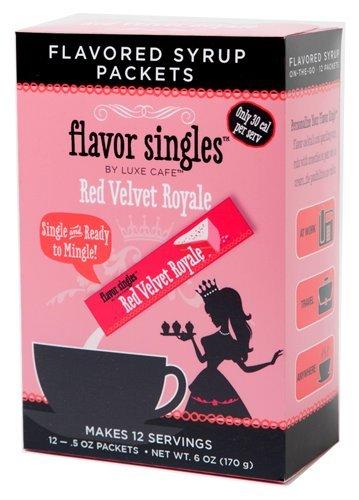 12 Pack Flavor Singles - Red Velvet Royale