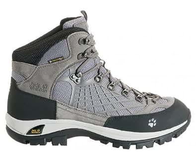 JACK WOLFSKIN Chaussure de randonnée Vertic Texapore pour Homme, Gris/Noir, 40.5