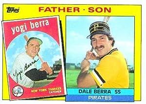 1985 Topps #132 Yogi / Dale Berra FS (Father / Son) (Baseball Cards)