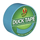 Duck Brand 1265020 Colored Duct Tape, Aqua, 1.88-Inch by 20 Yards, Single Roll