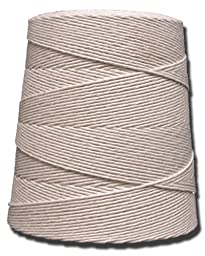 T.W . Evans Cordage 07-120 12 Poly Cotton Twine with 2.5-Pound Cone, 4000-Feet