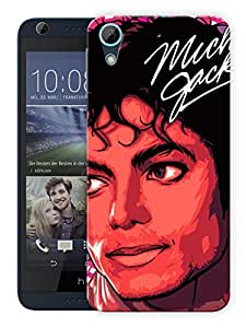 "Humor Gang Michael Jackson The Legend Printed Designer Mobile Back Cover For ""HTC DESIRE 626"" (3D, Matte, Premium Quality Snap On Case)"
