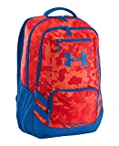 Under Armour UA Hustle Storm Backpack One Size Fits All Volcano