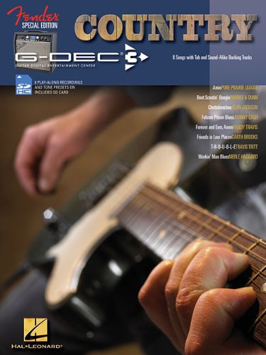 Country Guitar: Fender Special Edition G-DEC 3, with SD Card