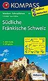 Südliche Fränkische Schweiz: Wanderkarte mit Aktiv Guide und Radwegen. GPS-genau. 1:50000