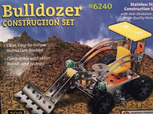 108 Pieces Stainless Steel Bulldozer Set #6240 - 1