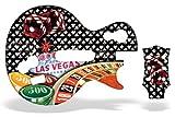 Guitar Hero 3 Faceplate Skin for Nintendo Wii - Vegas Baller Black