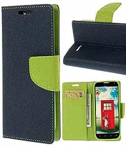 Winchip Mercury Flip Cover For Samsung Galaxy Grand 2 N7106 - Green