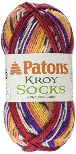 Spinrite Sunset Jacquard Kroy Socks Yarn