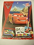 Disney Cars 2 Magic Paint Posters by Savvi ~ 12 Posters Plus Paint Brush
