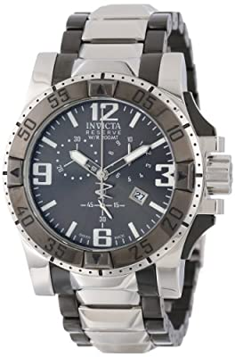 Invicta Men's 5677 Reserve Excursion Collection Chronograph Stainless Steel Watch