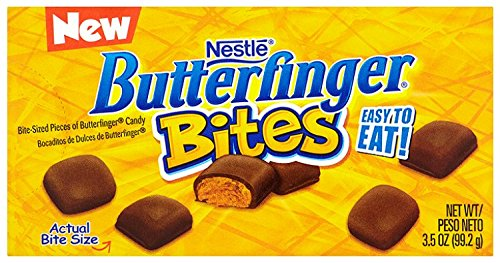 Nestle Butterfinger Bites On the Go Concession Box, 3.50-Ounce Boxes (Pack of 12)