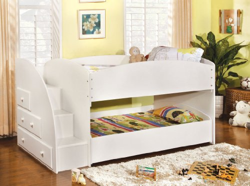 Twin Beds With Trundle 125823 front