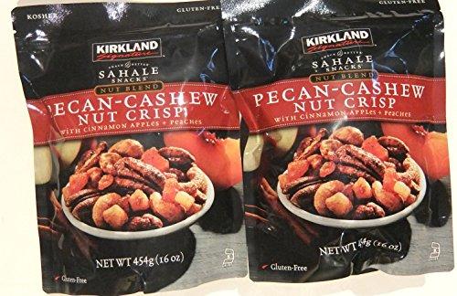 Kirkland Signature Sahale Snacks Pecan Cashew Nut Crisp 16 Ounce (Pack of 2) (Kirkland Mix Nuts compare prices)