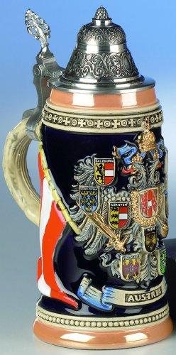 Jarra-de-cerveza-alemana-Austria-escudos-con-alto-relieve-jarra-04-litros-KI-1014-04L