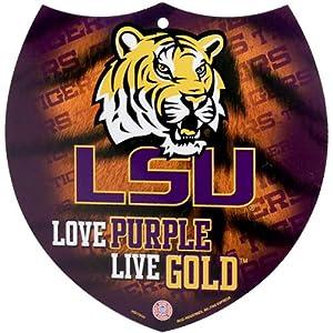 Buy LSU Tigers 8 Interstate Sign by Football Fanatics