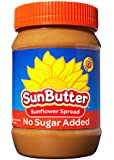SunButter Sunflower Seed Spread, Natural No-Sugar Added, 16 Ounce (Pack of 6)