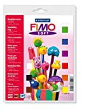 Staedtler Fimo Soft 8023 10 Oven Hardening Modelling Clay Starter Set (9 x 25g Blocks)