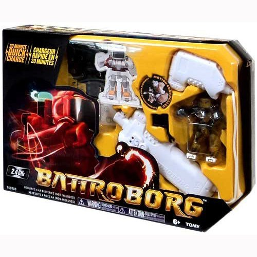 Battroborg Single Humanoid Robot (Colors May Vary)
