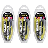 Manuscript Pen Trio Italic Pen, Assorted Designs