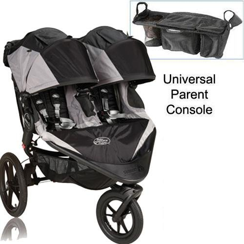 Baby Jogger Summit X3 Double Jogging Stroller With Parent Console