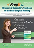 Brunner & Suddarths Textbook for Medical-Surgical Nursing PrepU Access Code