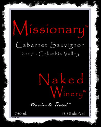 2007 Naked Winery Missionary Cabernet Sauvignon 750 Ml