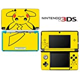 Pokemon Pikachu Decorative Video Game Decal Cover Skin Protector for Nintendo 3Ds