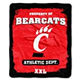 NCAA 50-Inch x 60-Inch Micro Raschel Throw Blanket
