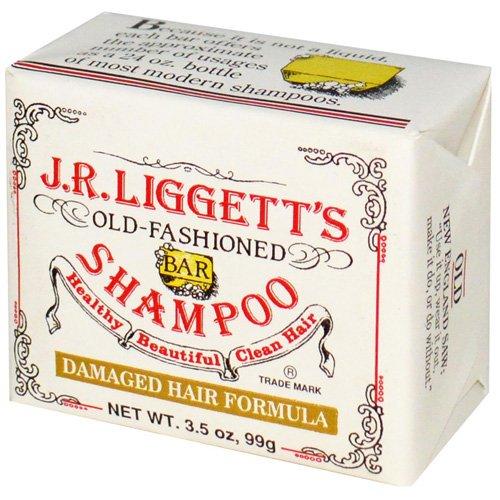 J.R. Liggett'S Old Fashioned Bar Shampoo Counter Display - Moisturizing Damaged Hair Formula - 3.5 Oz - Case Of 12 front-657336