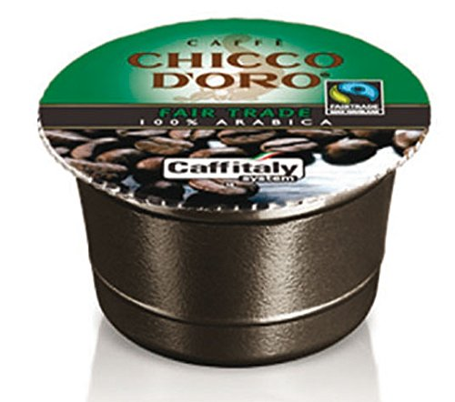 Shop for 60 Chicco d'Oro Coffee Capsules Fair Trade 100% Arabica by Caffè Chicco d'Oro